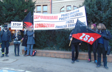 Post-Protest der ZSP-IAA