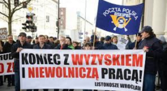 Polen: Protest bei Post