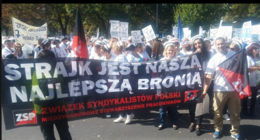ZSP-IAA unterstützt Protest der Krankenpfleger*innen